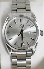 OMEGA SEAMASTER AQUA TERRA QUARTZ 2517.30 SILVER 39.2MM WRIST WATCH FOR MEN