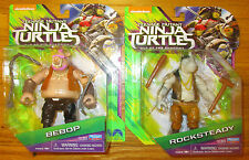 Teenage Mutant Ninja Turtles Out Of The Shadows Bebop Rocksteady Figure Set 2016