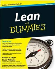 Lean For Dummies: By Sayer, Natalie J., Williams, Bruce