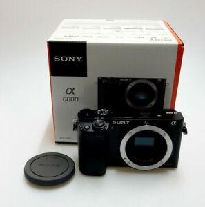 Sony Alpha ILCE-6000 schwarz Gehäuse / Body A6000 Neu in OVP