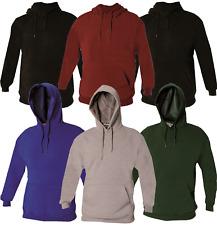Boys Girls Kids Hoodies Childrens Plain Pullover Fleece Hoody Childs Sweatshirts