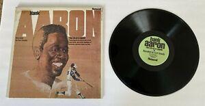 HANK AARON 71533 RPM RECORD ALBUM ATLANTA BRAVES