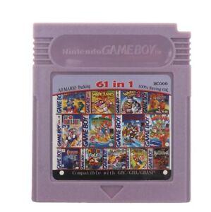 Nintendo Game Boy Multigame 61 in 1 Super Mario, Mega Man, Contra, Castlevania