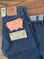 Vintage NWT LEVIS 501xx Shrink to Fit Button Fly Jeans USA 1987 29x38 Deadstock