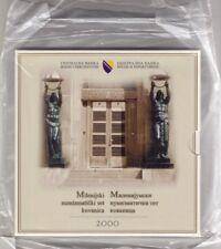 Bosnien und Herzegowina, Millenium -  KMS 2000, St, 3,80 KM, 5 Münzen, Einheimis