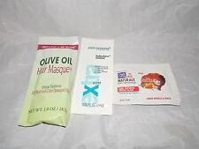 3 ORGANIC JHERI REDDING DARK & LOVELY Curl Glaze Polisher Hair Masque Samples