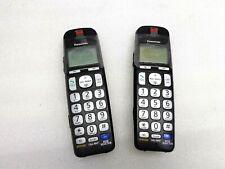Panasonic KX-TGEA20 DECT 6.0 Plus Accessory Extra 2 Cordless Phone Handset BLACK