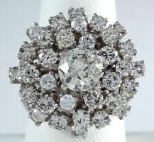 3.55ct DIAMOND 14K White GOLD Ring - R9476
