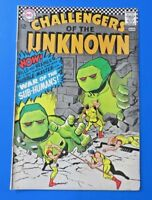 CHALLENGERS OF THE UNKNOWN #54 ~ DC SILVER AGE COMIC BOOK 1966 ~ SPONGE MAN  FN+