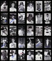 LOT of (30) Signed / Autographed CHICAGO WHITE SOX Photo Cards