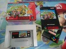 Juego Completo Super Nintendo Snes Mario Kart Versión Pal España Original CIB