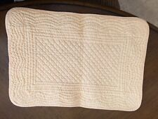 4 Quilted Yellow Place Mats