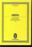 Grieg ~ CONCERTO für Piano und Orchester - Op. 16 - Studienpartitur
