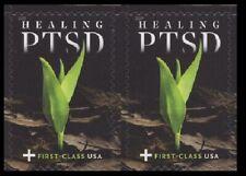 2019 US Stamp - PTSD - Pair - SC# B7