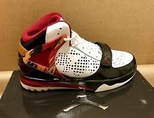 Brand New DS AIR JORDAN PHASE 23 HOOPS (440897-105) WHT/BLK/RED MEN'S - Size 9.5
