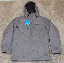 $180 NEW Columbia Jacket MOUNTAIN MARVEL Interchange Gray Men SMALL S Omni-Tech