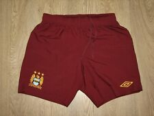 MANCHESTER CITY 2011-12 AWAY SHORTS UMBRO SOCCER SIZE M