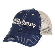 Genuine Subaru Logo Script Applique Cap Hat STI Ascent Forester Outback WRX OEM