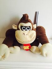 Donkey Kong Official Authentic Nintendo Plush Stuffed Doll 12 inch Large Mario