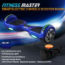 Smart Self Balancing Hoverboard Electric 2 Wheel Scooter Hover Board Blue