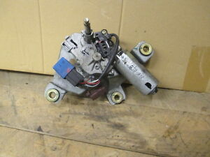 PEUGEOT 406 ESTATE FIT REAR / BOOT WIPER MOTOR 4 PIN PLUG FROM 1998 YEAR CAR