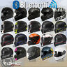 Torc T14B Mako DOT ECE Blue Tooth Dual Visor Full Face Street Motorcycle Helmet