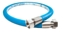 "1inch Food Brewery Grade Hose with 1"" Swaged end Conncections 4,5 or 6mt lengths"