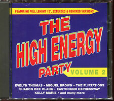 THE HIGH ENERGY PARTY VOLUME 2 - 12'' & REMIXES - CD COMPILATION [956]