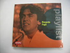 RICCARDO FOGLI - PLAYLIST - CD SIGILLATO DIGIPACK 2016