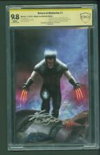 RETURN OF WOLVERINE 1 IN-HYUK LEE ULTIMATE SIGNED CBCS 9.8 EDITION IN HAND #80
