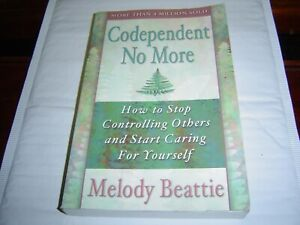 """""""GOOD COND"""" Codependent No More by Melody Beattie PAPERBACK"""