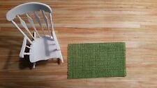 Miniature Area Rug for Dollhouse - handmade
