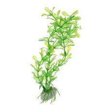 Kunstpflanze 20cm Aquarium Dekoration Wasserpflanze gruen  B5I3