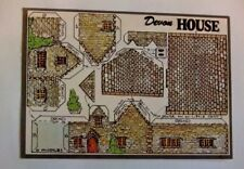 Fiddler's Green postcard model, N Gauge railway, Devon House, unmarked