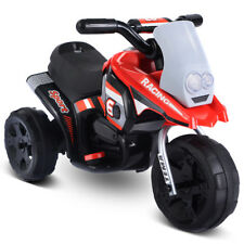 6V Kids Ride On Motorcycle Battery Powered 3 Wheel Bicycle Electric Toy New