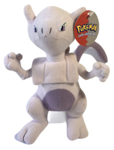 "Pokemon Plush Mew Vintage Play By Play Nintendo Stuffed Pink Animal Monster 8"""