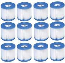 1/2/6/12x Intex Filter Cartridges Type/Size H 29007 Replacement Filter For 28601