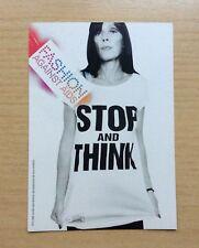 CARTOLINA - PUBBLICITA' H&M - CAMPAGNA CONTRO AIDS - NON VIAGGIATA - NEW