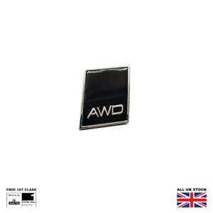 Black Chrome AWD Boot Badge For Volvo XC40 XC60 XC90 S60 V40 V60 Trunk Emblem