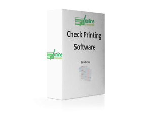 Check Printing Software - Print Checks Online - Business-Personal