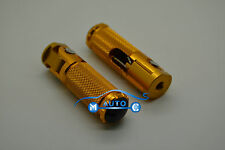 CNC Pliable Avant Repose-Pieds cale Pied Pr Universel Moto Racing Motogp or G