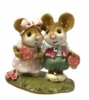 Wee Forest Folk WFF M-331 Young Love Pink Dress Valentine's Day