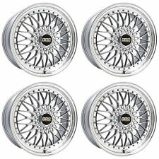 4 x BBS Super RS Decor Silver/Polished Rim Alloy Wheels - 5x112|20x8.5 "