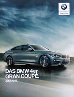 2228) BMW 4er Gran Coupe Prospekt brochure Juli 2018