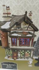 NEW Dept 56 DICKENS VILLAGE Scrooge EBENEZER'S HOUSE & 3 GHOSTS - 7 Piece SET