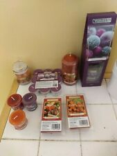 Wickford co bundle winter scents Reed diffuser, pillar candle,tea lights,wax mel