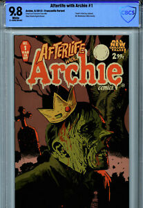 Afterlife with Archie #1 (2013) Archie Comics CBCS 9.8 White Francavilla Variant