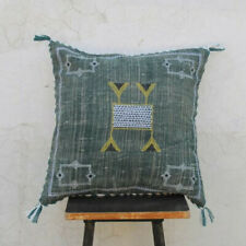 Beautiful Cactus Silk Inspired Handmade Linen Pillow Cover Moroccan