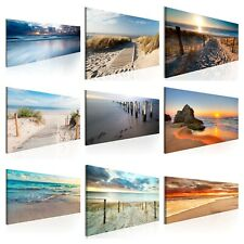 LANDSCHAFT MEER STRAND NATUR Wandbilder xxl Bilder Vlies Leinwand 9050027