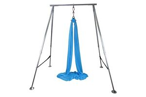Height Adjustable Aerial Rig for Aerial Silks, Aerial Yoga, Up to 11 Feet Tall